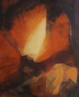 Schiefer Glow 80 x 80 cm