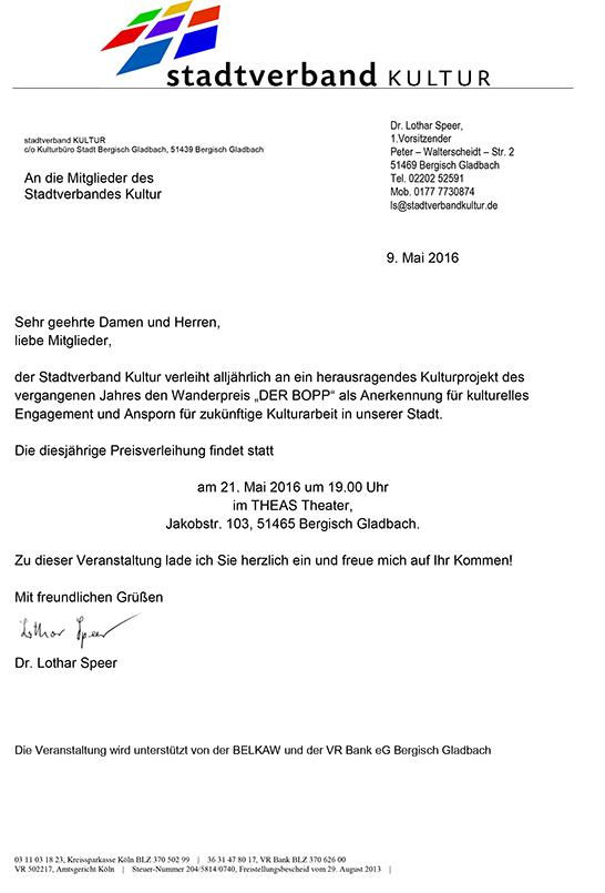 Stadtverband Kunst, Literatur und Geschichte