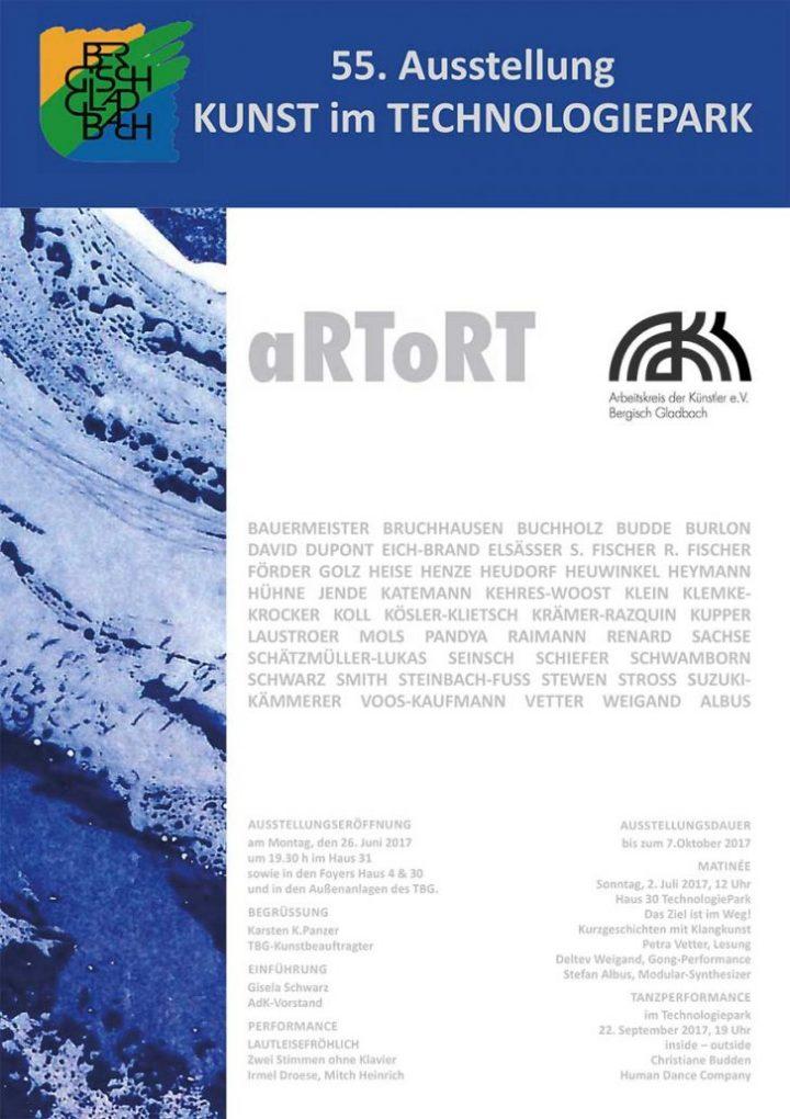 """""""aRToRT"""" –  eine Ausstellung des AdK"""