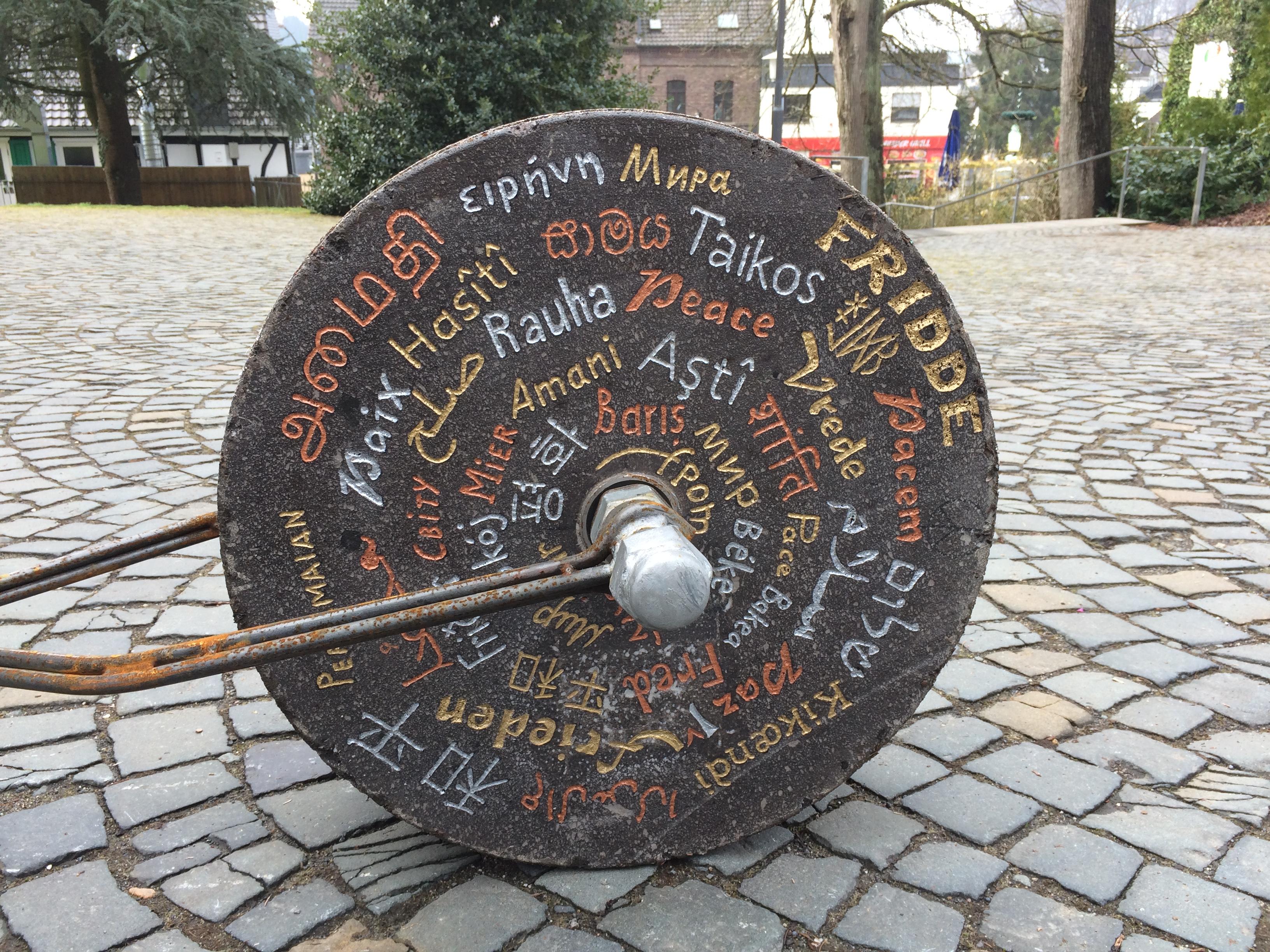 """Das Projekt """"Stoning – Roll"""" in Kürten"""