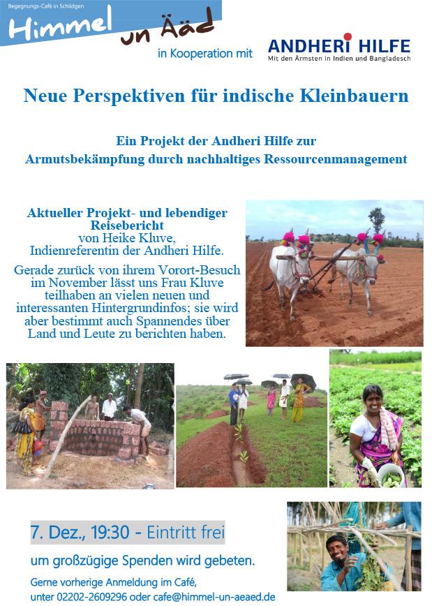 Andheri-Hilfe vor Ort – Neue Perspektiven für indische Kleinbauern
