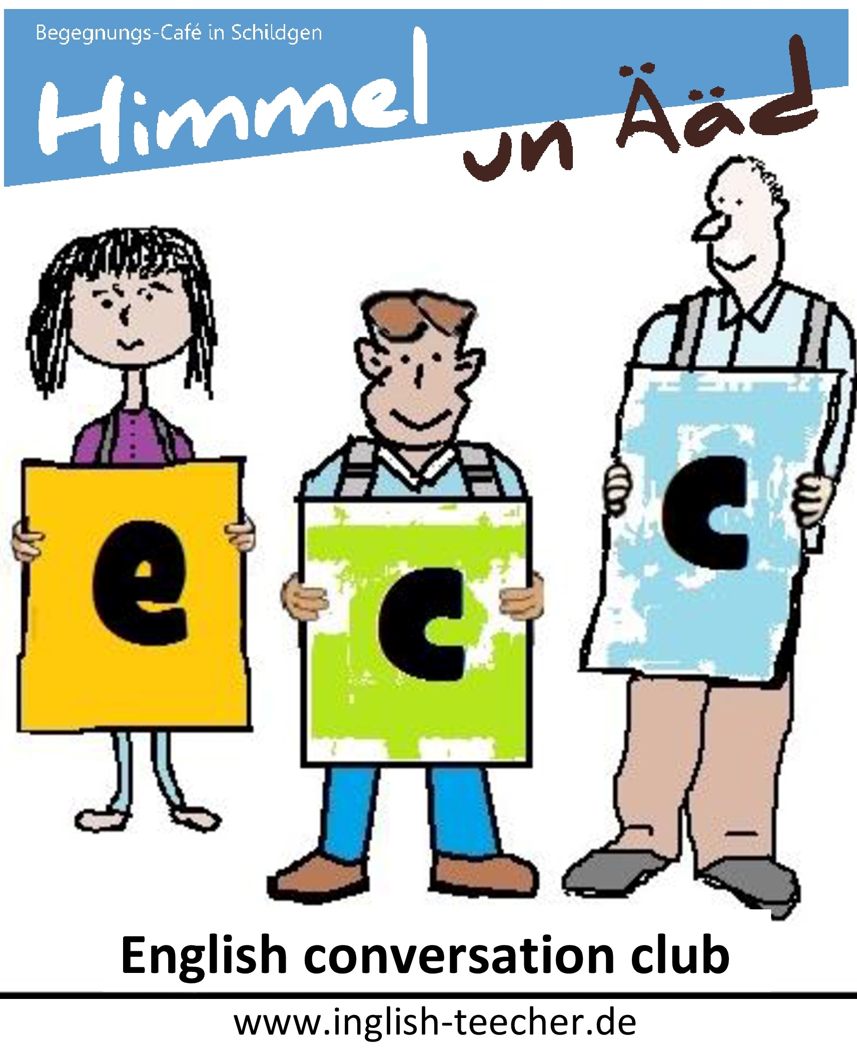 Schnuppertermin – English Conversation Club im H&Ä