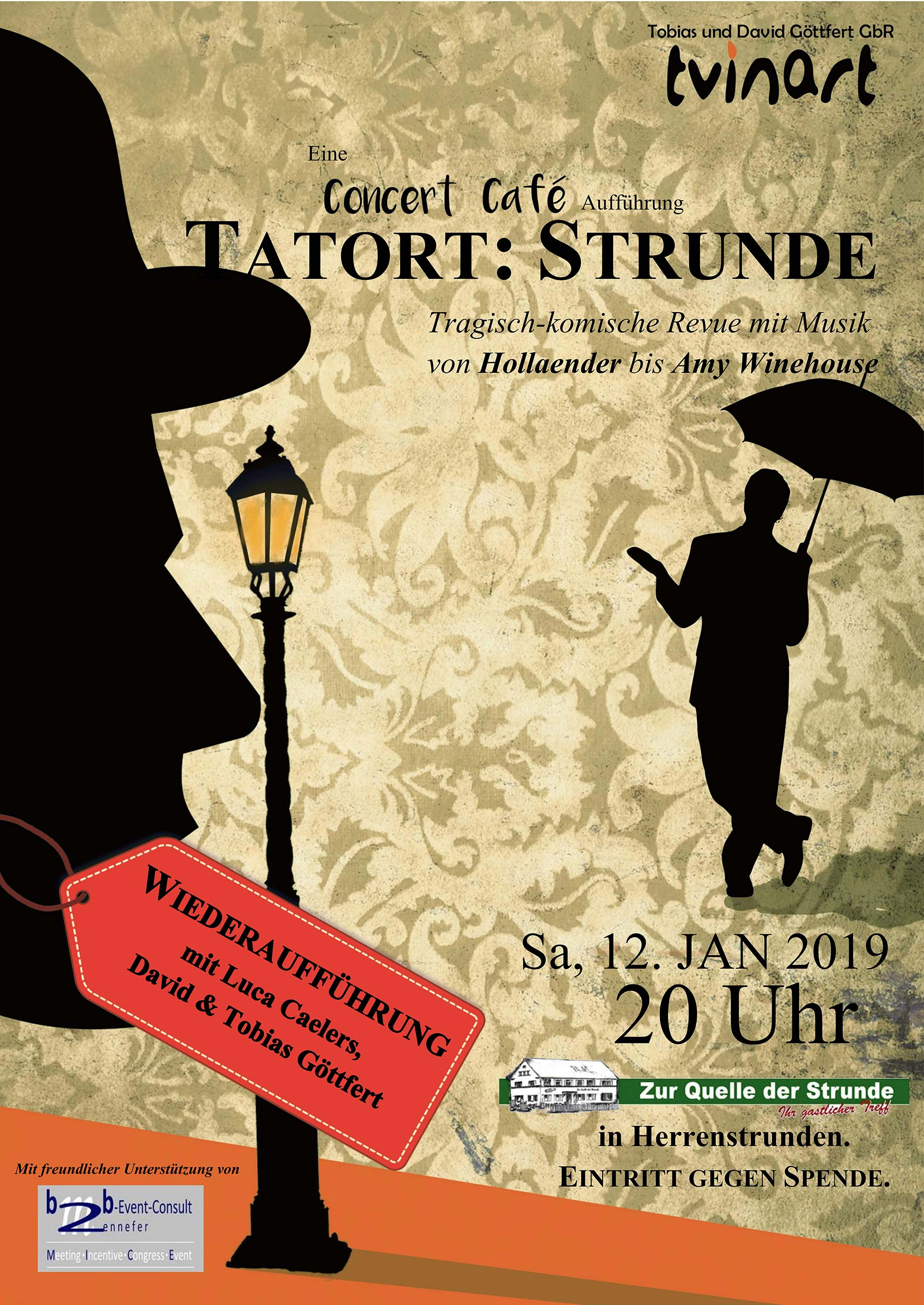 "Konzert ""Tatort: Strunde"""