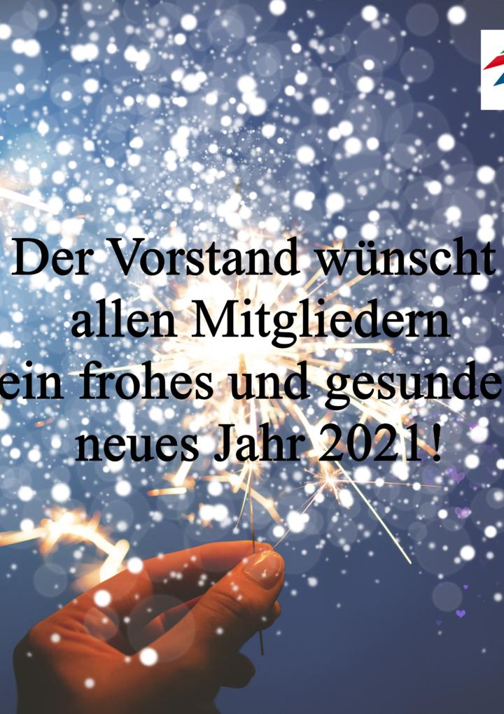 Kommen Sie gut und wohlbehalten ins neue Jahr!